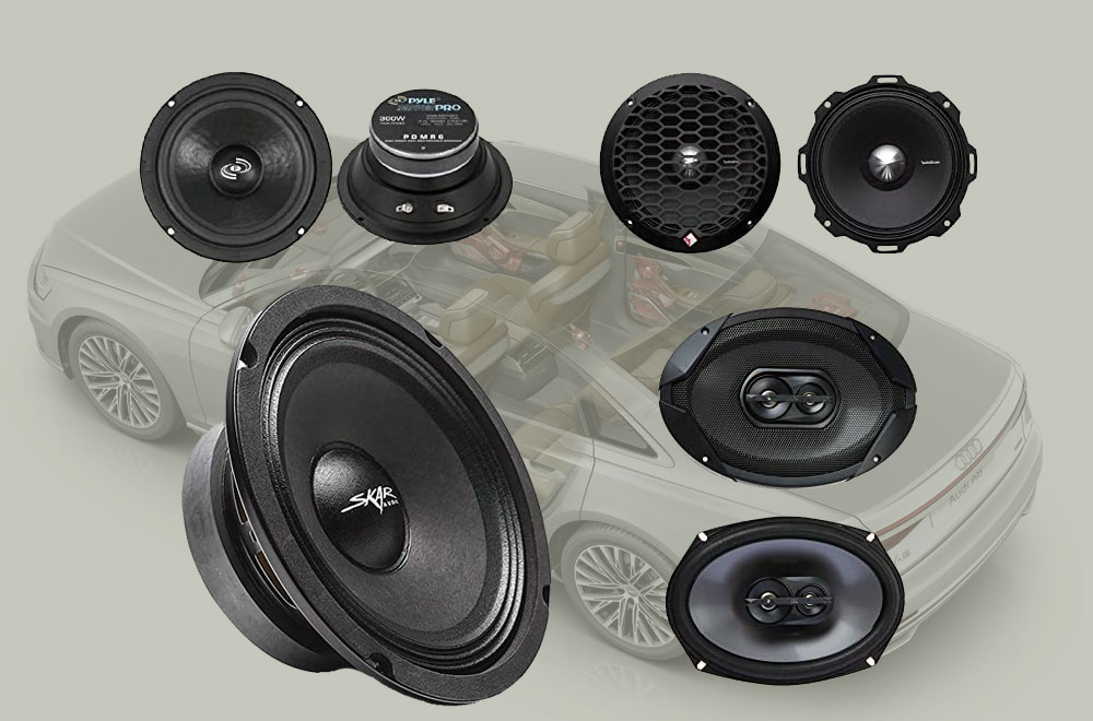 Best Mid-range Speakers Car Audio